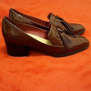 Marc Fisher block heel shoes